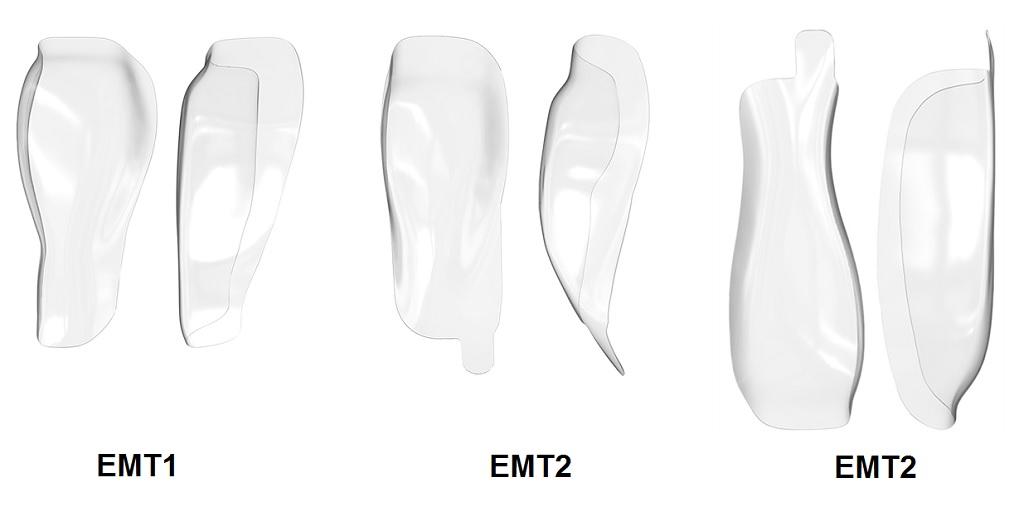 EMT1, 2 a 3